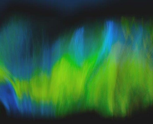 Priscilla Dale Jones - Abstracts - Free Forms - Northern Lights - 2014