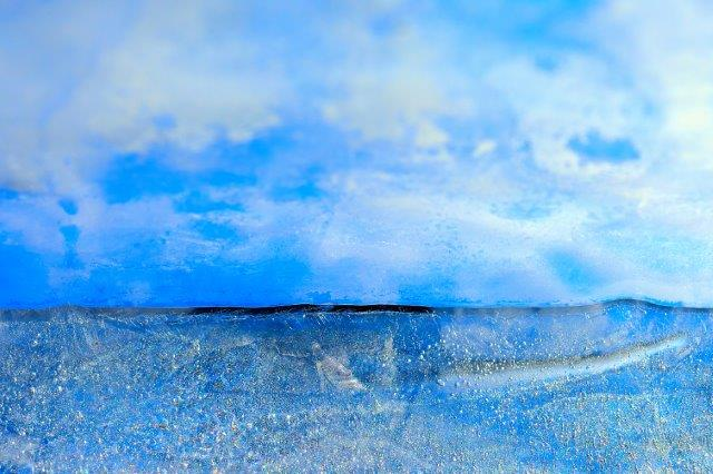 Priscilla Dale Jones - Abstracts - Water Forms - Morning Sea and Sky - 2014
